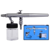 Aerograph High Precision Detail Control Dual Action Gravity Feed Airbrush