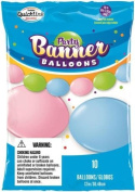 Pastel Assortment 30cm Qualatex Quick Link Party Balloon Banner - Up To 3m