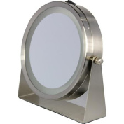 Floxite 8x Lighted Home and Travel Mirror
