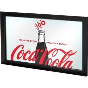 Coca-Cola Framed Mirror, 100th Anniversary of the Coca-Cola Bottle