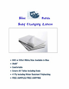 Blue Panda Nappy Changing Station Liners 500ct White 4 Ply