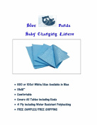 Blue Panda Nappy Changing Station Liners 500ct Blue 4-Ply