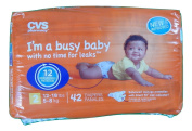 CVS Pharmacy 42-ct Ultra Soft Disposable Baby Nappies Size 2