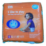 CVS Pharmacy 27-ct Ultra Soft Disposable Baby Nappies Size 5