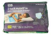 CVS Pharmacy 15-ct Boys & Girls Nighttime Underpants Small/Medium
