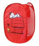 Snoopy and Friends Red Coloured Callapsible Hamper