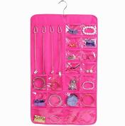 Black Menba Utility 7-Layer 20-Pocket Hanging Storage organiser/bag for Jewellery gadget etc.