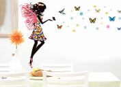 DIY Wall Quote Decor Art Decal Sticker Removable - Butterfly Elf