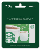 Starbucks Gift Cards, Multipack of 8