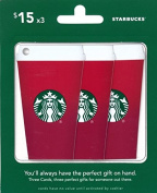 Starbucks Gift Cards, Multipack of 3