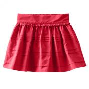 OshKosh Girls' Taffeta Skirt - Red Velvet-2T