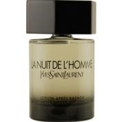 LA NUIT DE L'HOMME YVES SAINT LAURENT by Yves Saint Laurent AFTERSHAVE 100ml for MEN