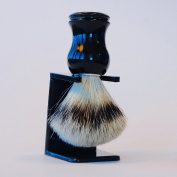 Shaving Brush With 100% Pure Badger Hair From Ship Shave Will Give You The Best Classic Wet Shave For The Money-Enhance The Quality Of Your Shaving Experience Today