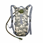 2L Hydration System Climbing Survival Hiking Pouch Backpack Bladder Water Bag - ACU