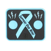 Maxpedition Gear Blue Balls Awareness Patch Multi-Coloured