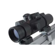 Ultra Dot Match Dot II Red Dot, 30mm ,Black Finish, 2 Reticles MATCHDOT2