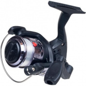 Gone Fishing Spinning Reel with Fishing Line, Silver