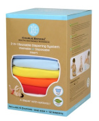 Winc Design Limited 889176 6 Nappies 12 Inserts Set Unisex Hot Small