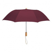 Peerless 2363-Burgundy Executive Folding Umbrella Burgundy