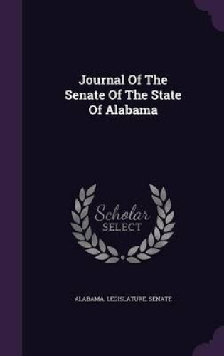 Journal-of-the-Senate-of-the-State-of-Alabama-by-Alabama-Legislature-Senate