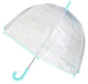 Conch Umbrellas 1265AXGreen Bubble Clear Umbrella Dome Shape Clear Umbrella