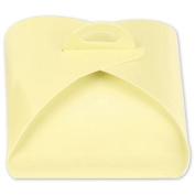 Deluxe Small Business Sales 65-4TT-CR 1.63 x 7.6cm x 7.6cm . 4-Piece Truffle Totes Cream