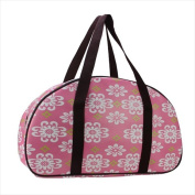 NorthLight 50cm . Decorative Pink Flower Design Travel Bag & Purse
