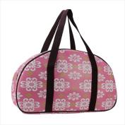 NorthLight 50cm . Decorative Pink Flower Design Travel Bag & Purse