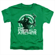 Arrow-Archer - Short Sleeve Toddler Tee Kelly Green - Small 2T