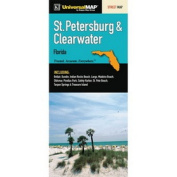 Universal Map 11188 St Petersburg And Clearwater Fl Fold Map