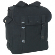 Fox Outdoor 40-91 BLACK GI Style Jumbo Musette Bag - Black