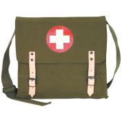 Fox Outdoor 42-77 OD German Style Medic Bag - Olive Drab