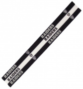Caseys 8669908479 Oakland Raiders Elastic Headbands