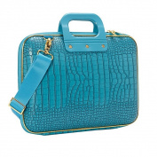Bombata BA0002-22 38cm . Gold Cocco Laptop Brief - Turquoise