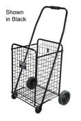 Complete Medical 605B Shopping Waggon All Purpose Cart Black