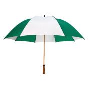 Peerless 2419WGF-Kelly-White The Mulligan Umbrella Kelly And White