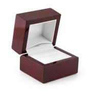 Ring Box Rosewood Veneer