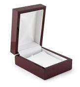Pendant or Earring Box Rosewood Veneer