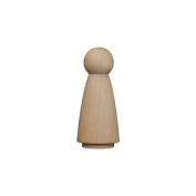 Wood Doll Bodies - Girl 5.1cm - Bag of 10
