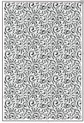 Sue Wilson Embossing Folder Star Swirls EF-052 Large A4 SIze