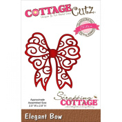 CottageCutz Elegant Bow Elites Die