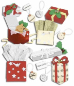 Jolee's Boutique Themed Ornate Dimensional Stickers, Christmas Gifts