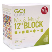 AccuQuilt GO! Qube Mix & Match 30cm Block