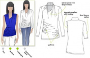 Style Arc Sewing Pattern - Issy Knit Top (Sizes 04-16) - Click for Other Sizes Available