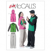 McCall's Patterns M6212 Misses'/Men's/Teen Boys' Vest, Jackets, Pants and Dog's Coat, Size ZZ