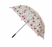 Conch Umbrellas 1079HBrown Polka Dot Clear Children Umbrella