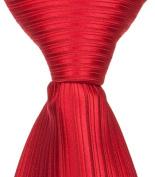 Matching Tie Guy 2654 R6 - 15cm . Newborn Zipper Necktie - Red