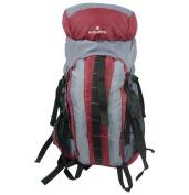 Harvest LM152M Maroon-Grey Hiking Backpack with Internal Frame