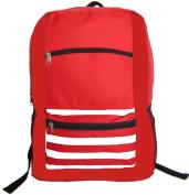 Harvest LM202 Red 600D Poly Backpack 18 x 33cm x 14cm .