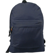 Harvest LM183 Navy 46cm . Classic Backpack 18 x 33cm x 15cm .
